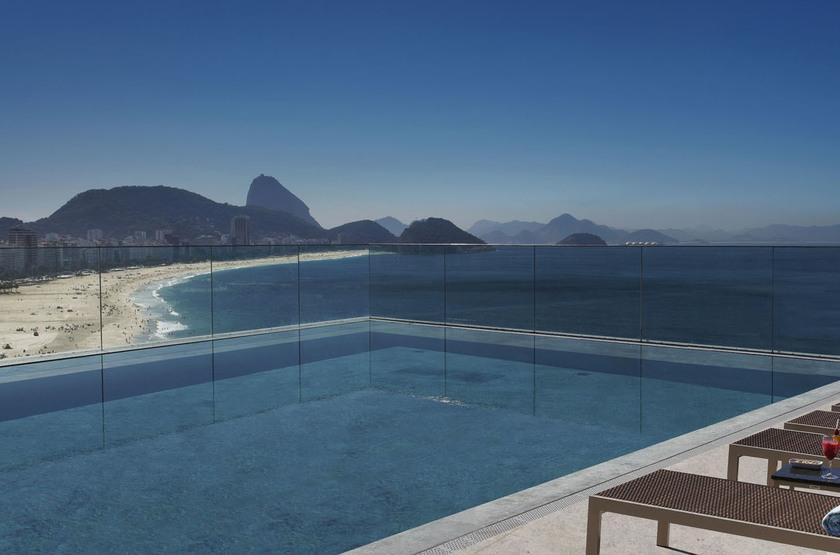 Miramar Windsor, Copacabana, Brésil, pisicine