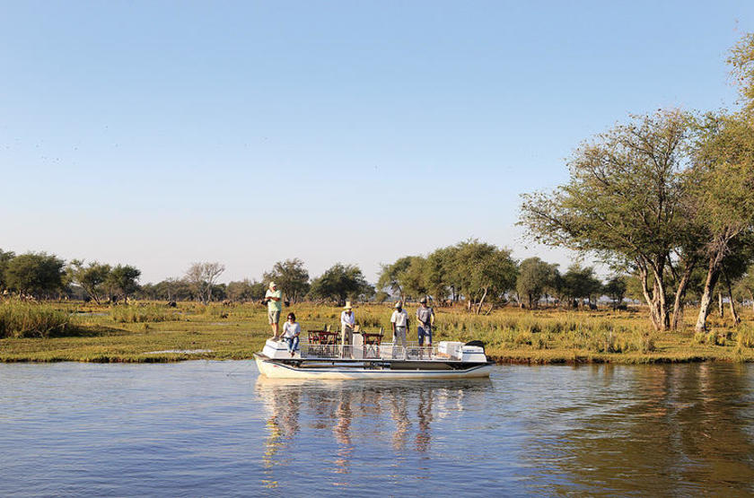 Anabezi Luxury Tented Camp, Lower Zambezi, safari en bateau