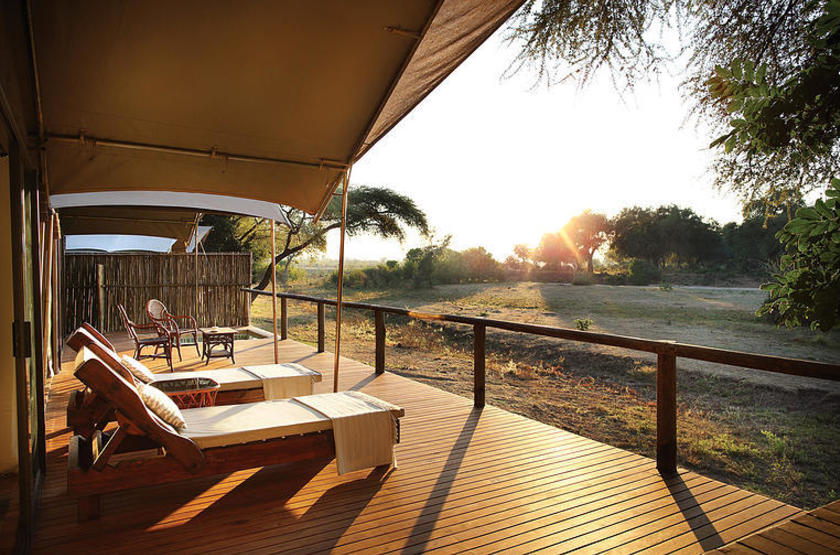 Anabezi Luxury Tented Camp, Lower Zambezi, , terrasse tente