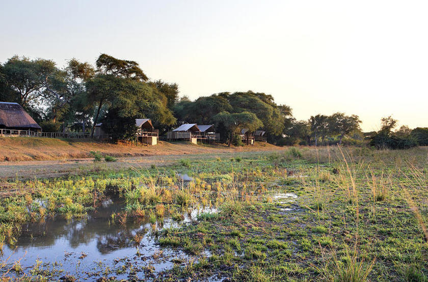 Anabezi Luxury Tented Camp, Lower Zambezi, emplacement