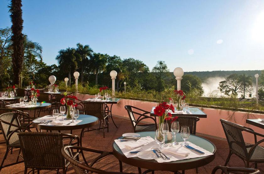 Das Cataratas, Iguazu, Brésil, terrasse