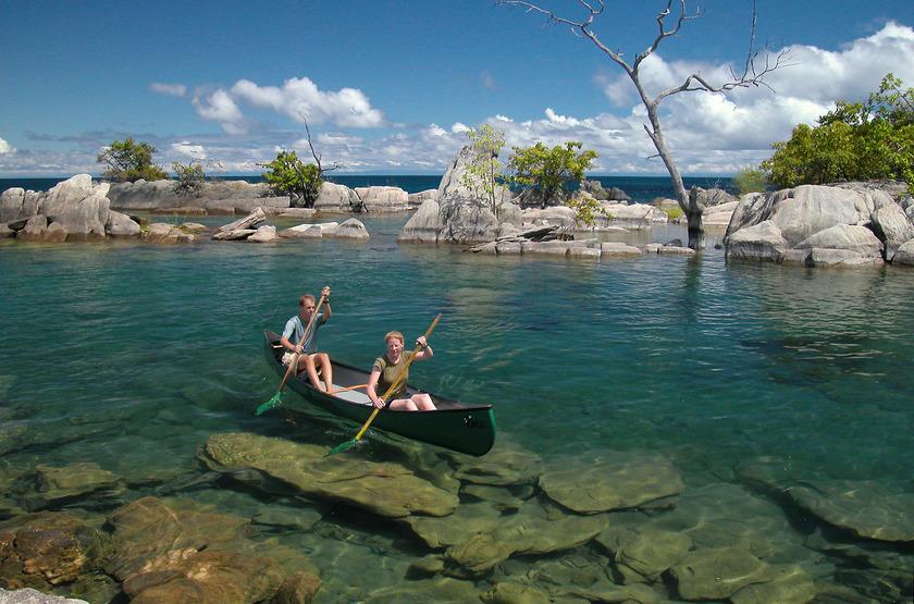 Nkwichi Lodge, Lac Malawi, kayak