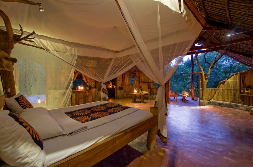 Nkwichi Lodge, Lac Malawi, chambre