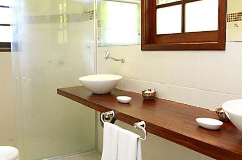 Anima Hotel, île de Tinharé, Brésil, salle de bains