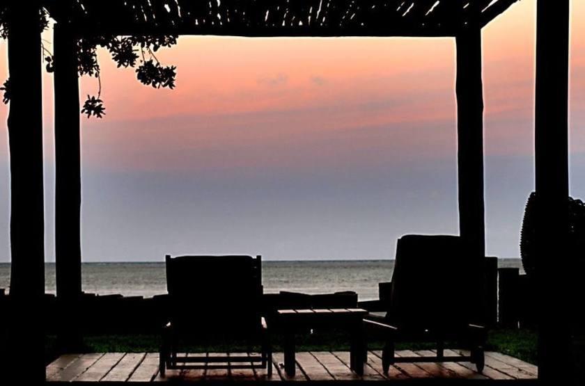 Anima Hotel, île de Tinharé, Brésil, terrasse