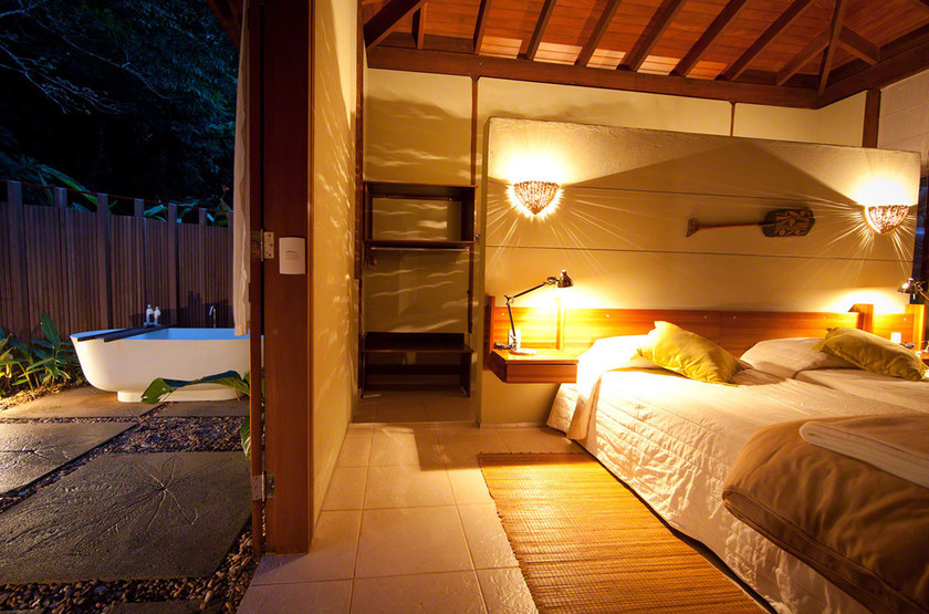 Cristalino Jungle Lodge, Amazonie, Brésil, chambre