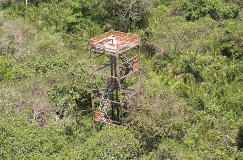 Pousada Piuval, Pantanal, Brésil, poste d'observation