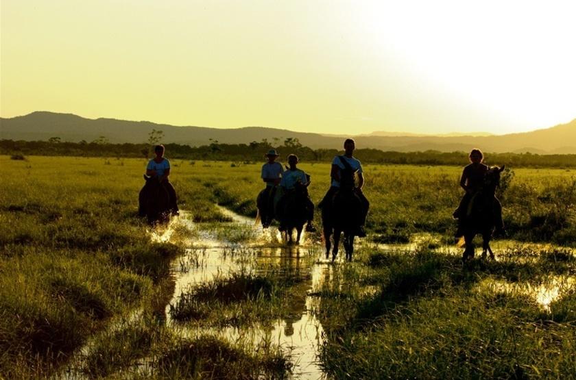 Refugio da Ilha, Pantanal, Brésil, balade à cheval