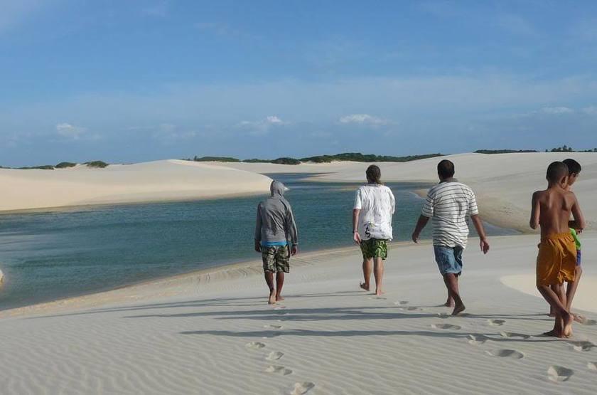 Rancho do Buna, Atins, Brésil, plage