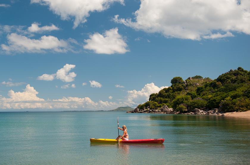 Kaya Mawa, Lac Malawi, Malawi, Kayak