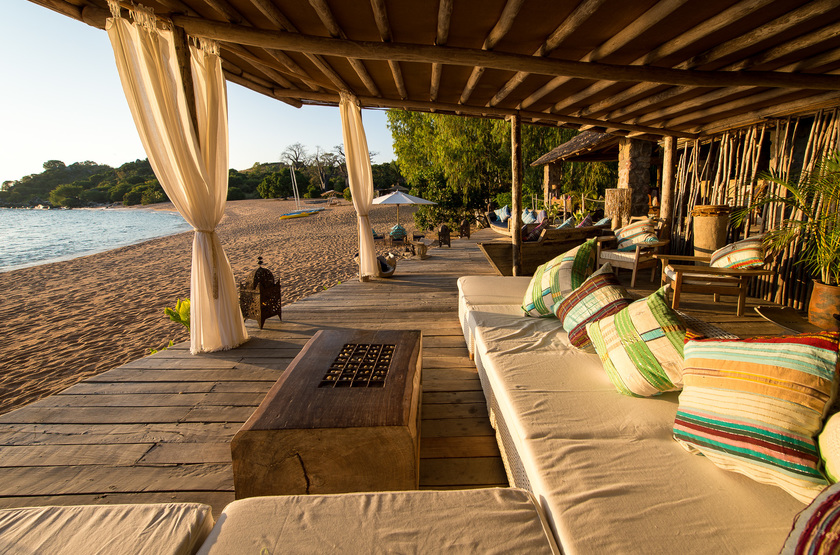 Kaya Mawa, Lac Malawi, Malawi, salon