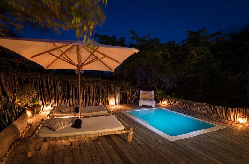 Kaya Mawa, Lac Malawi, Malawi, piscine
