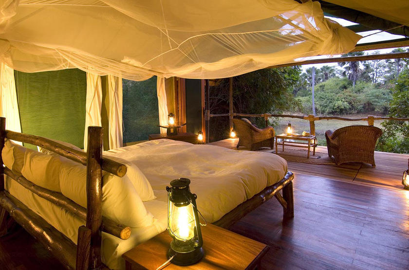 Malawi shire river liwonde   mvuu lodge    room 3 slideshow