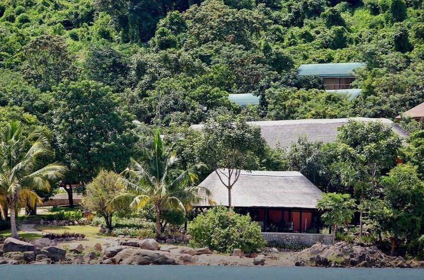 Blue Zebra Island Lodge, ile Nankoma, Malawi, extérieur