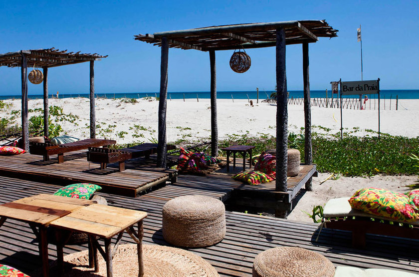 Rancho do Peixe, Jericoacoara, Brésil, bar