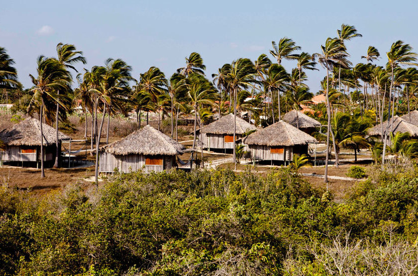 Rancho do Peixe, Jericoacoara, Brésil, extérieur