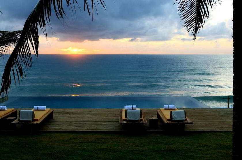 Kenoa Resort, Maceio, Brésil, piscine et plage