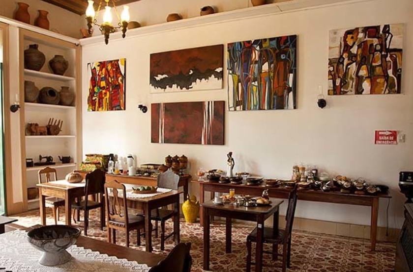 Pousada dos Quatro Cantos, Olinda, Brésil, restaurant