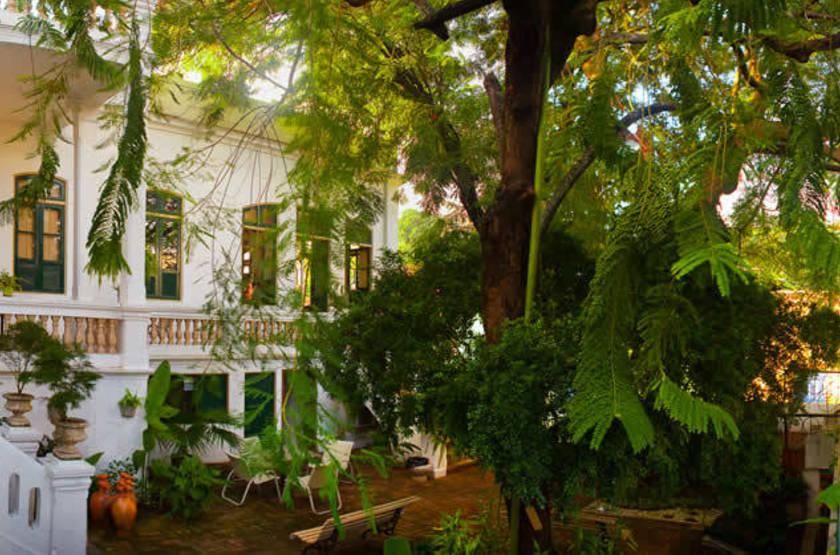 Pousada dos Quatro Cantos, Olinda, Brésil, jardin