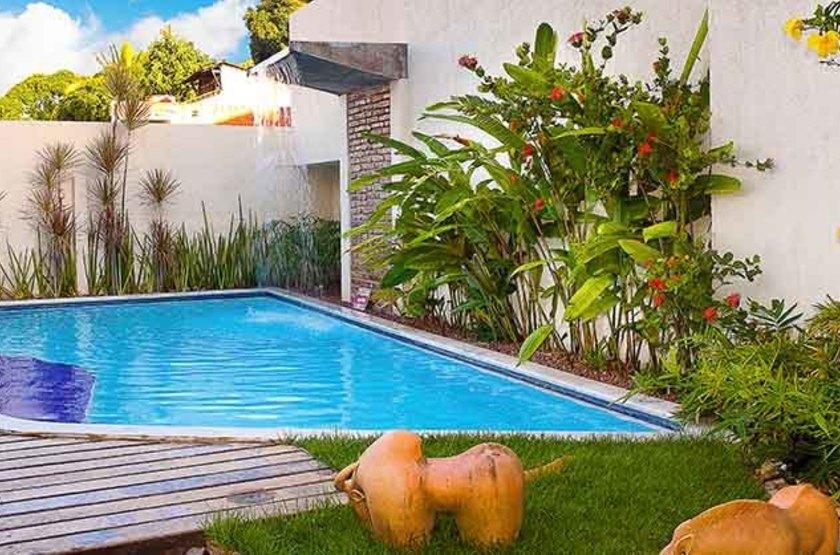 Pousada dos Quatro Cantos, Olinda, Brésil, piscine
