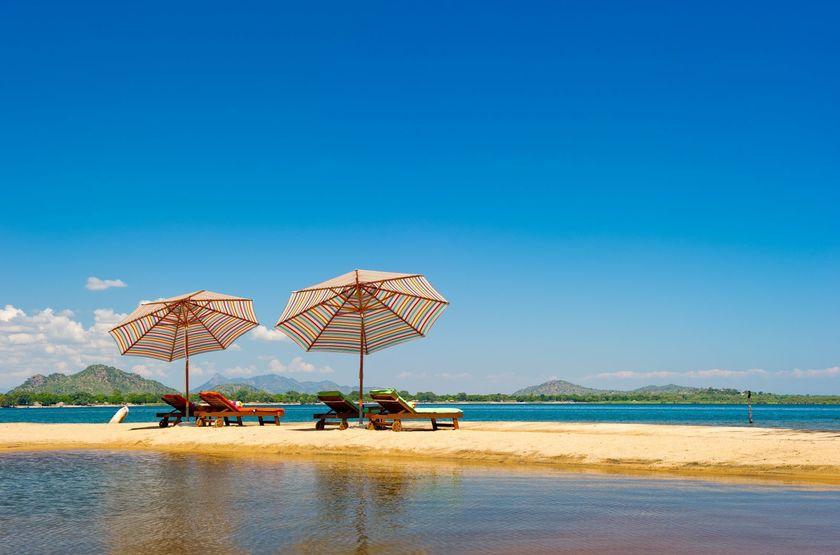 Pumulani Lodge, lac Malawi, Malawi, plage