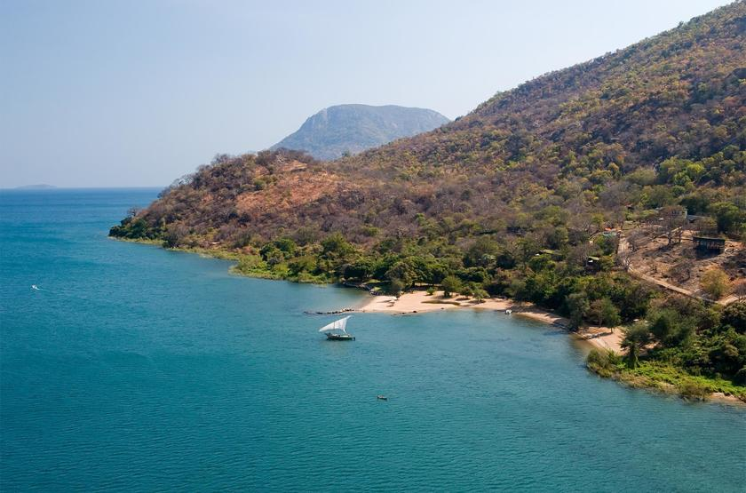 Pumulani Lodge, lac Malawi, Malawi