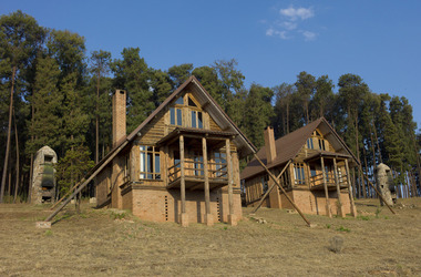 Malawi   nyika   chelinda lodge   cabane vue ext rieure listing