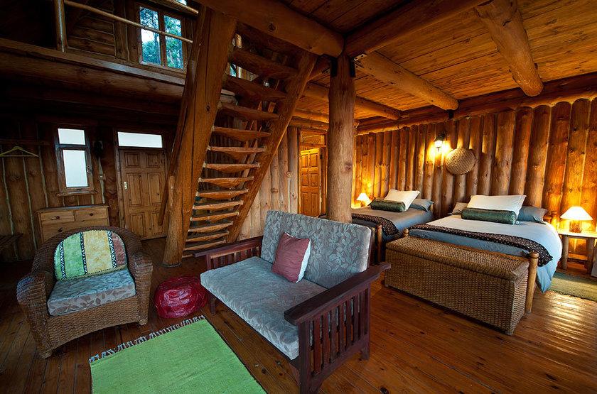 Chelinda Lodge, Nyika Park, Malawi, intérieur chalet