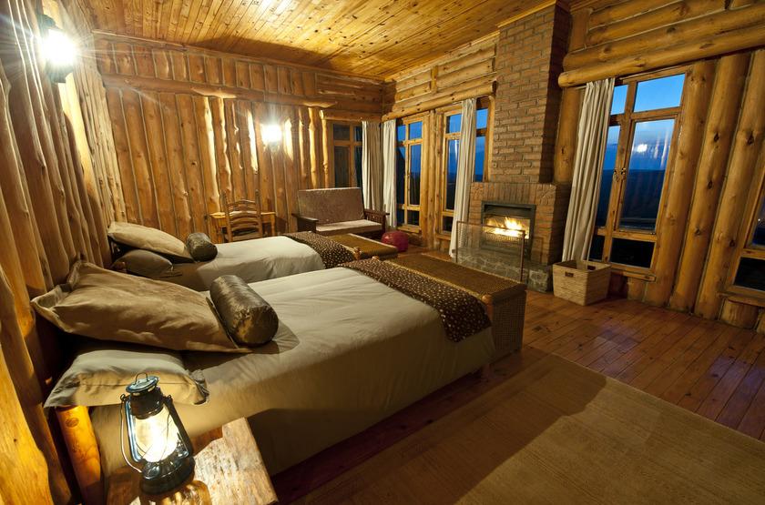 Chelinda Lodge, Nyika Park, Malawi, chambre