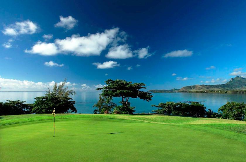 Shangri-la Le Touessrok, Ile Maurice, golf sur l'Ile aux Cerfs