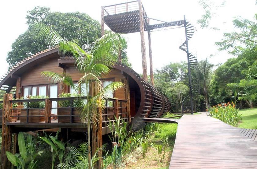 Ecolodge Mirante do Gaviao, Amazonie, Brésil, extérieur