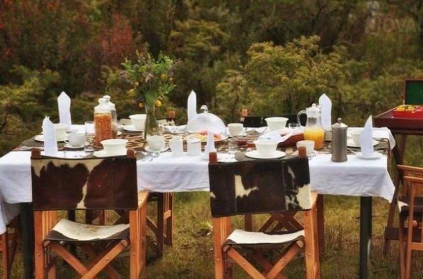 Pakulala Safari Camp, Ngorongoro, Tanzanie, déjeuner