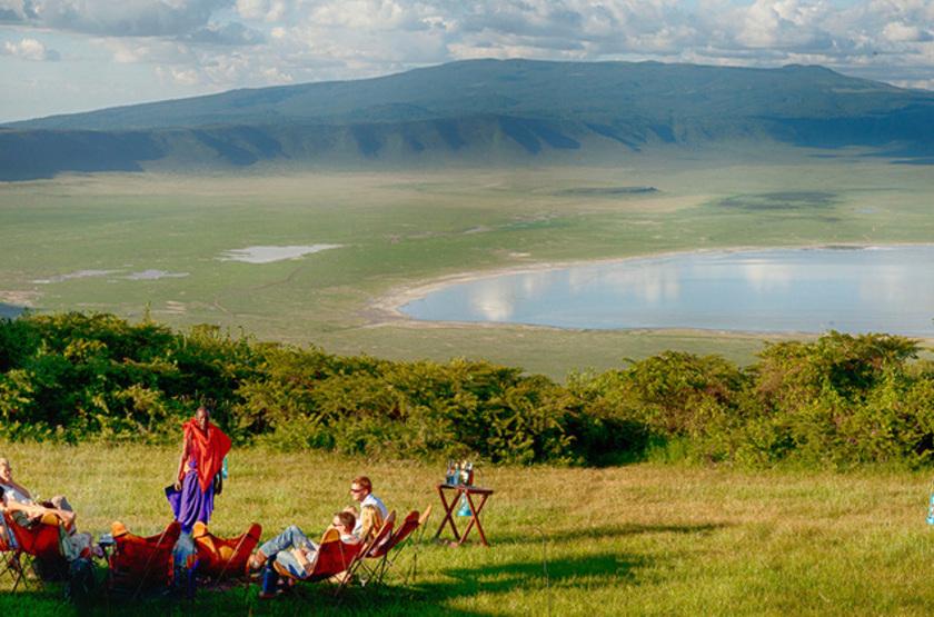 Pakulala Safari Camp, Ngorongoro, Tanzanie, extérieur