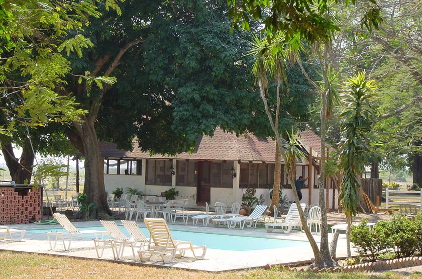Hato El Cedral, Los Llanos, Venezuela, piscine