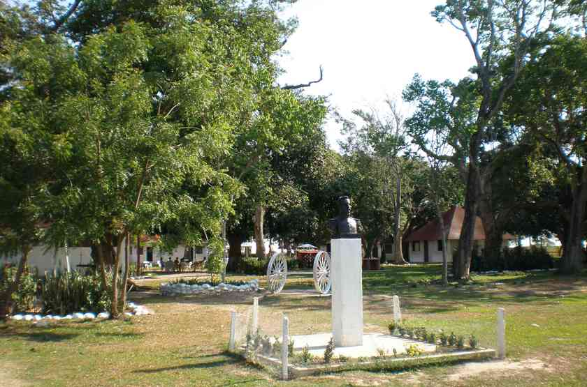 Hato El Cedral, Los Llanos, Venezuela, jardins