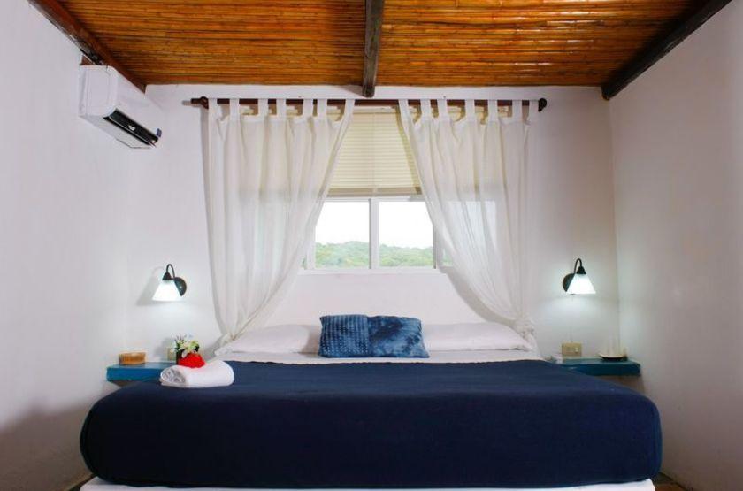 Posada El Paraiso Azul, Morrocoy, Venezuela, chambre