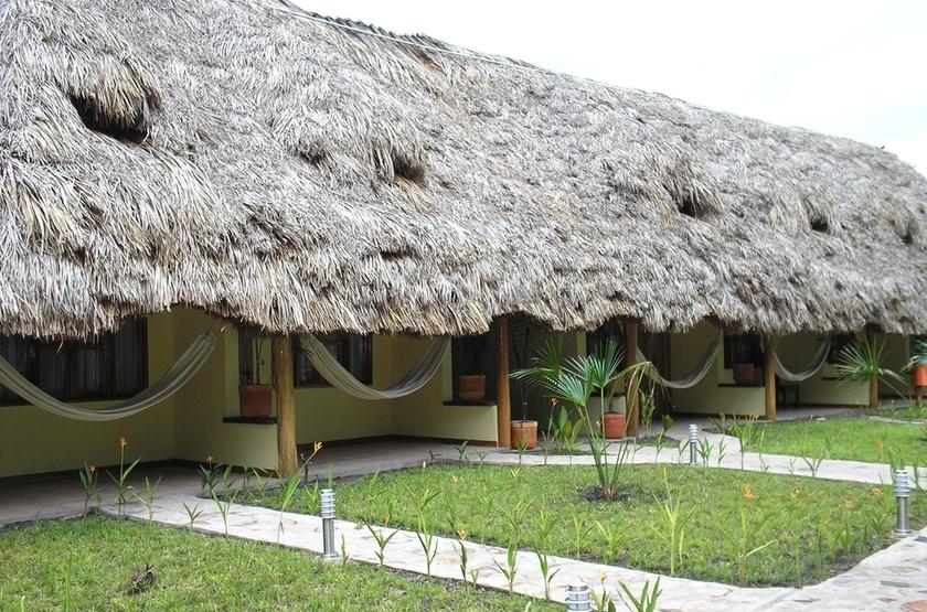 Tapuy Lodge, Parc National de Canaima, Venezuela, extérieur
