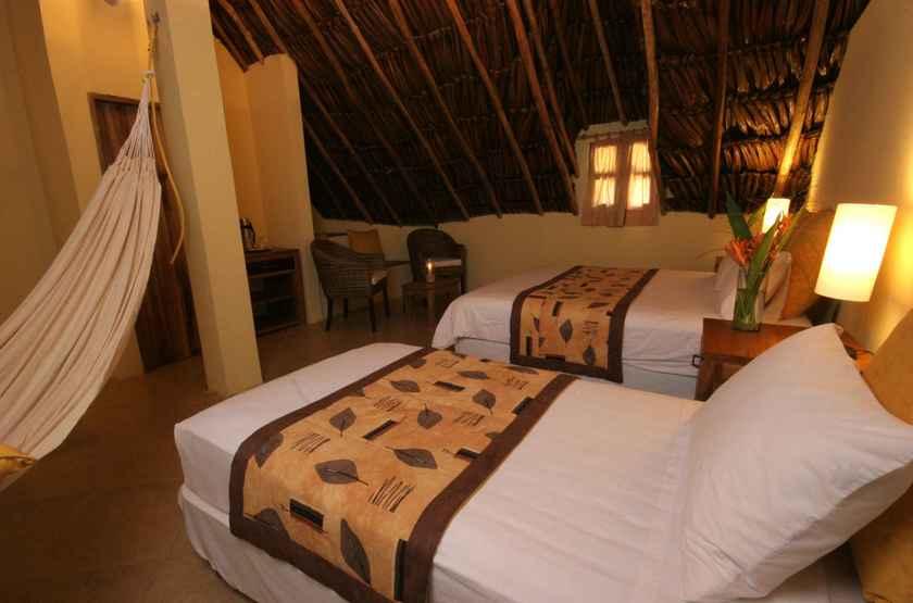 Tapuy Lodge, Parc National de Canaima, Venezuela, chambre