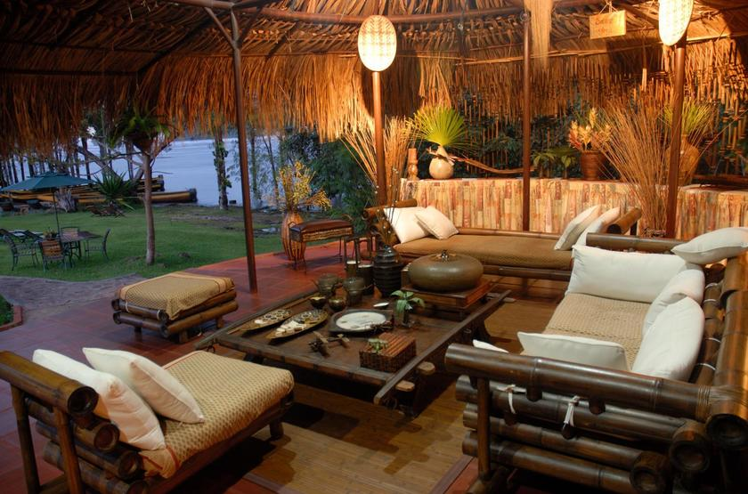Waku Lodge, Parc national de Canaima, Venezuela, salon