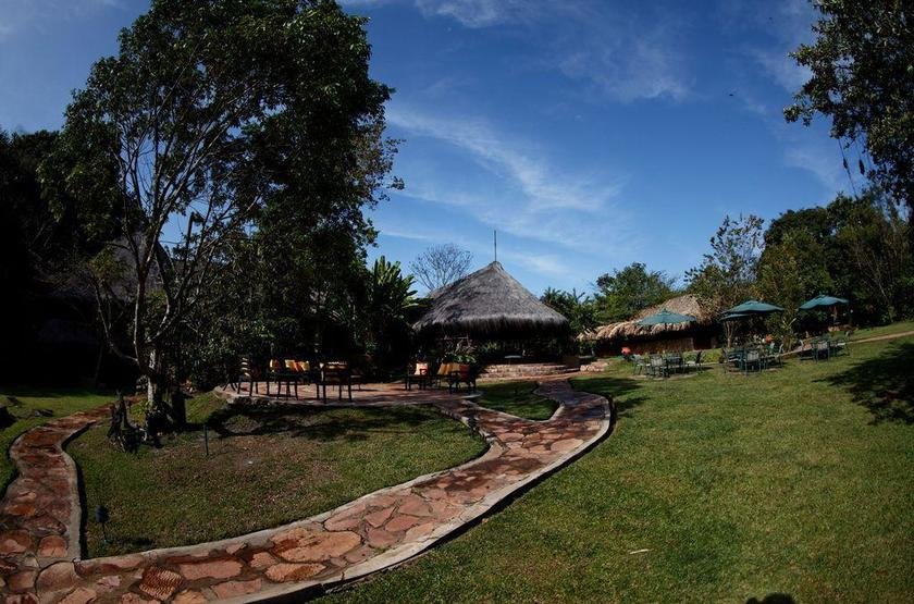 Waku Lodge, Parc national de Canaima, Venezuela, extérieur