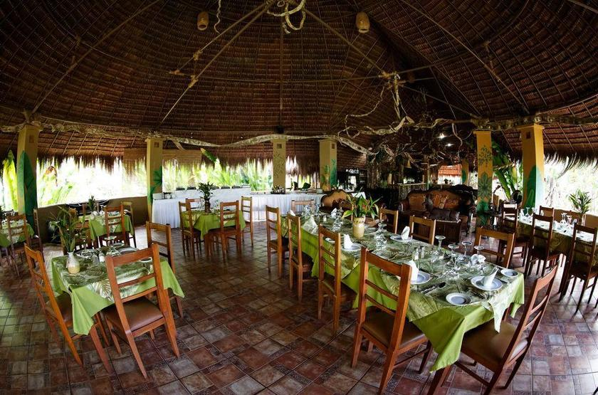 Waku Lodge, Parc national de Canaima, Venezuela, restaurant
