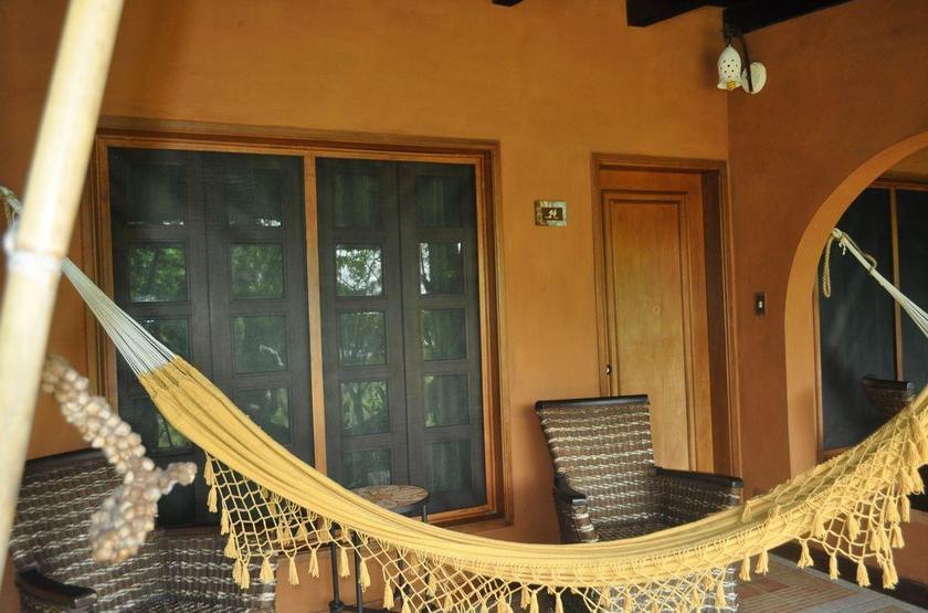 Waku Lodge, Parc national de Canaima, Venezuela, terrasse