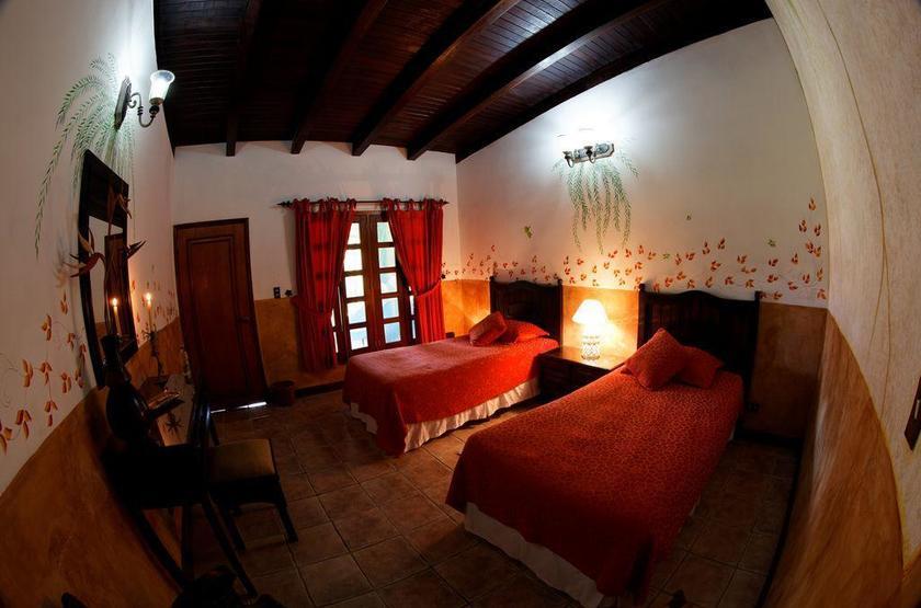 Waku Lodge, Parc national de Canaima, Venezuela, chambre