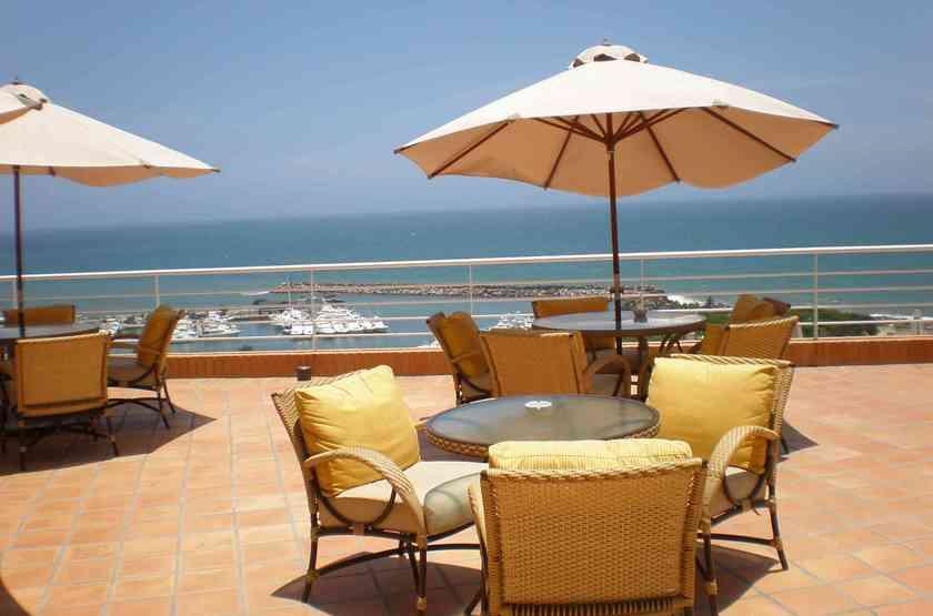 Marriott Playa Grande, Caracas, Venezuela, terrasse