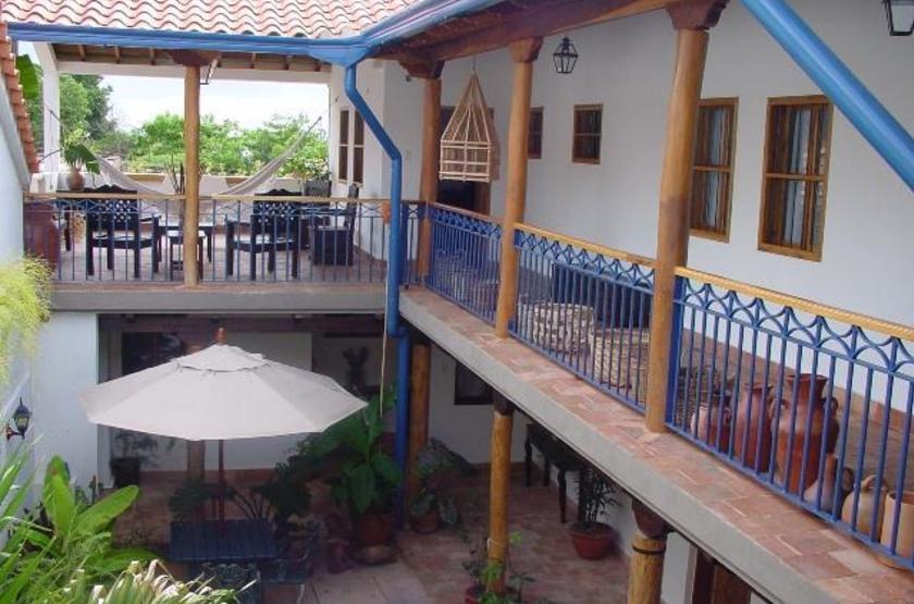 Posada Angostura, Bolivar, Venezuela, patio