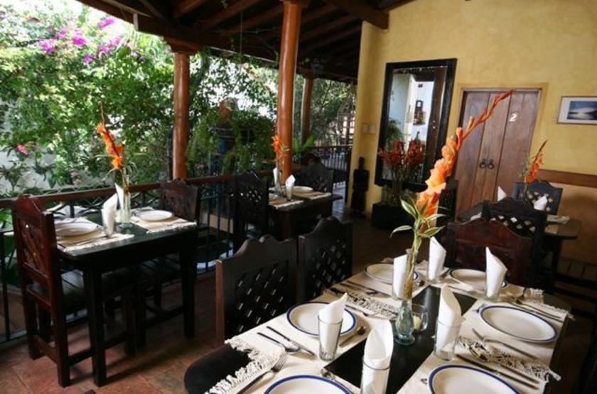 Posada Angostura, Bolivar, Venezuela, restaurant