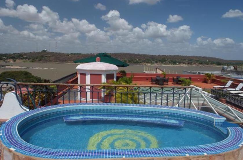 Posada Casa Grande, Bolivar, Venezuela, piscine