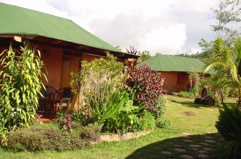 Campement Yakoo, Santa Elena, Venezuela, jardins