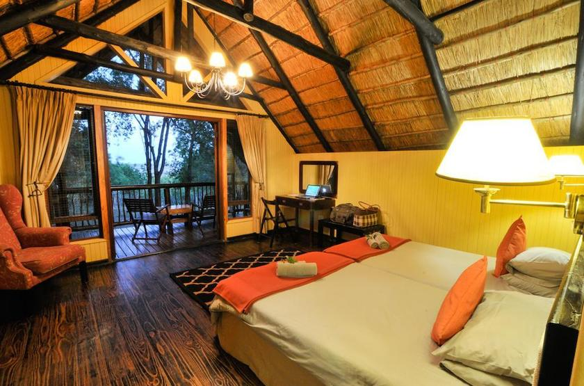 Hluhluwe River Lodge, Afrique du Sud, chambre