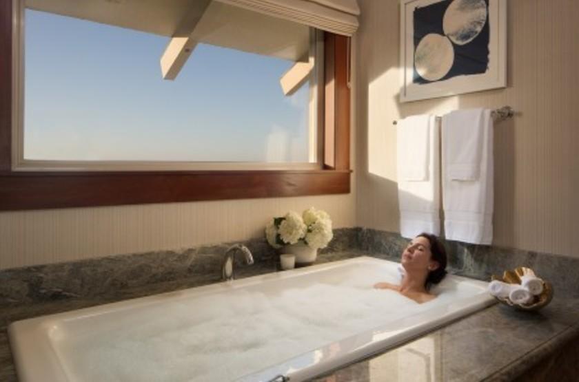 Monterey Plaza Hotel & Spa, Etats Unis, salle de bains